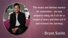 Bryan Susilo: Bryan Susilo Property Investor, Deep Impact, Real Estate Services, Insight, Father, Profile, Passion, Australia, Age