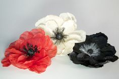 FRENCH FLOWER MAKING OPEN FLORALS #HatAcademy #flowermaking #millinery