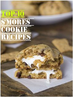 Top-10 S'mores Cookie Recipes