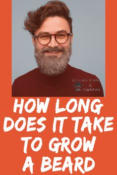 If you are new to growing a beard, a question often asked is how long does it take to grow a beard. Check out more details.  Here you can discover various facts about the stages of growing a beard and the time it may take to have a full beard. Read more about beard growth at beardtrimandgroom.com. #beardgrowth #thickerbeard Natural Beard Growth, Beard Growth Tips, Beard Tips, Diy Beard Oil, Beard Wax, Best Beard Care Products, Growing Facial Hair, Patchy Beard, Thick Beard