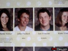 Funny School Year Book