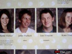 Funny School Year Book