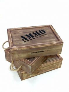 Ammo Crate - this would be awesome decorations