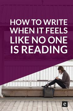 How To Write When It Feels Like No One Is Reading | It can be easy to get discouraged when it comes to sharing our writing. We feel like no one's listening or that our words don't have impact. Click through for 3 ways to keep writing when it feels like no one is reading.