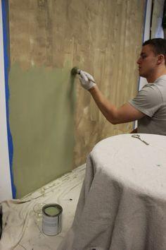 Maison Decor - rustic wall painting technique