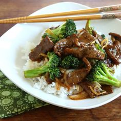 Chinese Beef and Broccoli. Chinese Beef and Broccoli. Easy delicious and ready for table in 15 minutes!