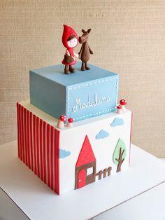 Cake: Capuchino Vermelho (Little Red Ridinghood)