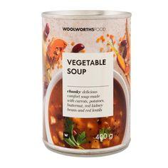 Vegetable Soup 400g