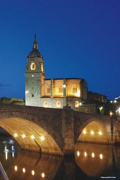 *** Puente e Iglesia de San Antón #Bilbao #Euskadi #Basque Country
