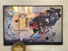 Vintage Kandinsky Poster  $42  Mid Century Dallas Booth 766  Lula B's 1010 N. Riverfront Blvd. Dallas, TX 75207