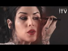 Kat Von Ds Everyday Liquid Eyeliner How-To. #Sephora #Video