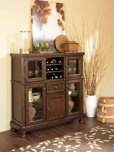 Ashley Porter Dining Server | Mathis Brothers Furniture
