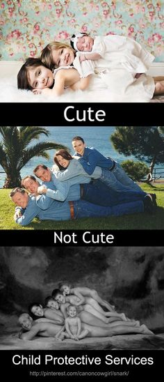 """the last two in a HILARIOUS book, """"Awkward Family Photos."""" check it out, too funny. Lol, Haha Funny, Funny Cute, Funny Memes, Hilarious, Funny Stuff, Pedobear, Child Protective Services, Awkward Family Photos"""