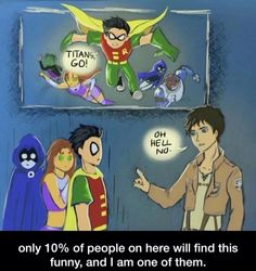 Attack on teen Titans o.o?
