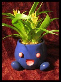 Oddish Flower Pot by Sara121089.deviantart.com on @deviantART