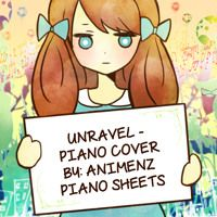 Animenz Piano Sheets Unravel Piano By Jack Spade On Soundcloud