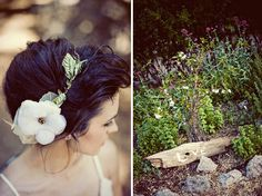love the hairpiece.    mignonnehandmade  http://www.etsy.com/listing/55809963/woodsy-halo-style-1-the-nature-girl
