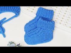 Knitting Socks, Baby Knitting, Free Crochet, Knit Crochet, Knit Baby Dress, Baby Socks, Baby Booties, Crochet Designs, Fingerless Gloves
