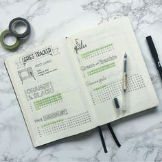 Bullet Journal Series Tracker
