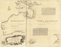 This is a really old and really cool historical map of Australia from the year 1644 (told you it was really old!).