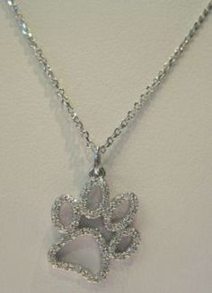 Paw Print Charm- for the pet lovers @Alana Alford you should get this!