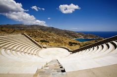 I Odysseas Elytis Theatre, Ios, Greece Hotel Website, Luxury Accommodation, Cheap Hotels, Hotel Suites, Cheap Travel, Greece Travel, Greek Islands, Beautiful Islands, Traveling By Yourself