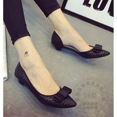 28.10$  Watch now - http://ai9om.worlditems.win/all/product.php?id=32779776966 - Slender Asakuchi Cozy Pu Single Shoes Lightweight Korean New Solid Soft Leather Women Shoes Flat Shoes For Women Breathable