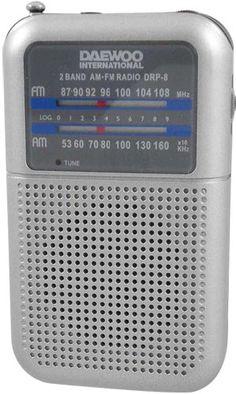 Radio portatil analogico con altavoz DAEWOO drp-8g silver #ofertas #regalos #regalar #tienda #madrid #españa Visita http://www.blogtecnologia.es/producto/radio-portatil-analogico-con-altavoz-daewoo-drp-8g-silver