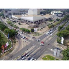 Accra - Ghana; My future home. Proof that not everyone in Africa rides elephants.