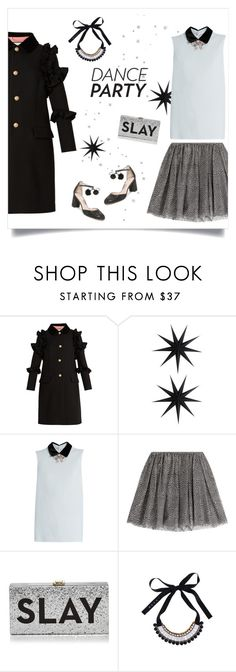 """""""Merry Christmas dear Polypals! 🌟🎄🎁"""" by sophiek82 ❤ liked on Polyvore featuring Gucci, House Doctor, Miu Miu, RED Valentino, Milly, Marni, Kate Spade and danceparty"""