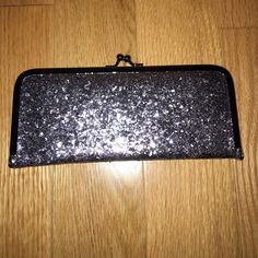 Sparkly clutch Card holders, zipper pocket Bags Clutches & Wristlets