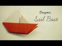 Fold Money Sailboat Origami - $1 One Dollar Bill Tutorial Full Instructions for Moneygami Boat - YouTube