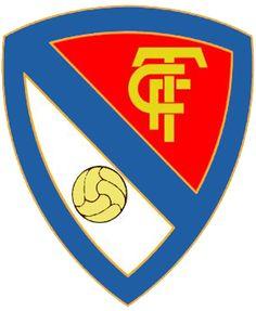 1906, Terrassa FC (Terrassa, Cataluña, España) #TerrassaFC #Terrassa #Catalonia (L19061) School Logo, Sports Clubs, Logo Ideas, Herb, Arms, Soccer, Football, Coats, Football Team