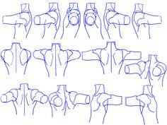個人的男性首、肩の描き方。 [10]