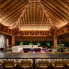 Amazing seaside residence located in Mexico, designed by Bernardi + Peschard Arquitectura. Types Of Architecture, Bamboo Architecture, Tropical Architecture, Amazing Architecture, Architecture Design, Bamboo Roof, Arch Light, Pacific Homes, Tropical Interior