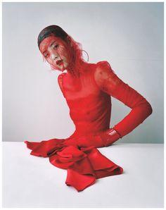 "gemmalard: "" Xiao Wen Ju in 'Magical Thinking' by Tim Walker for W Magazine, March 2012 """