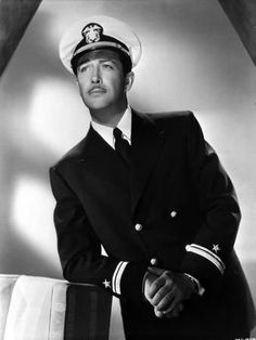 Famous Veterans born on August 5th include American film and television actor and singer (was one of the most popular leading men of his time) Robert Taylor (shown in his officer service dress blues). Taylor served as a United States Navy flying instructor during World War II. Happy angel birthday! And thank you for your service! Famous Veterans, Navy Uniforms, Poster Design Inspiration, United States Navy, New Poster, Professional Photographer, Movie Stars, Singer, Poses