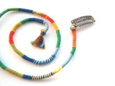 Colorful Hippie Hair Wrap Extension  Extra Long by AmplifiedPeople, $18.00