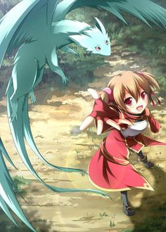 Sword Art Online - Silica..easily one of my favorite characters:)