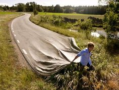 Erik Johansson takes photo editing and manipulation to new levels with his ever-growing collection of creative, innovative and amazing scenes of altered architecture and unbelivable built environments, distorted objects and twisted imagery – all while preserving an eerie photo-realism from the original photographic subject.