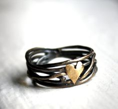 This would be the perfect promise ring. Amazing.