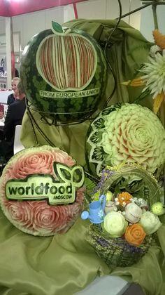 Stoisko Zwiazku Sadowników RP prezentowane na targach WorldFood Moscow 2014