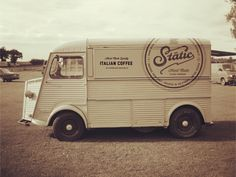 Static Coffee Van by Salih Kucukaga Design Studio