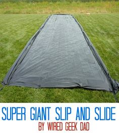35 summer DIY projects and activities for the best summer ever, DIY Slip . - 35 summer DIY projects and activities for the best summer ever, DIY Slip …, # activities - Best Slip And Slide, Giant Slip And Slide, Homemade Slip And Slide, Slip N Slide, Homemade Water Slide, Slip And Slide Baseball, Giant Water Slide, Water Activities, Summer Activities