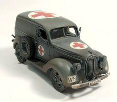 Ford Panel Van Krankenwagen