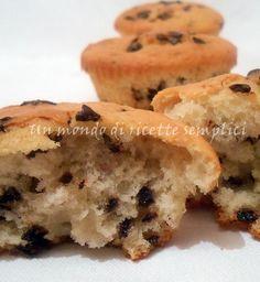 Muffin allo yogurt sofficissimi - Un mondo di ricette semplici