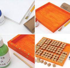 Como fazer mural de rolhas para guardar bijouterias