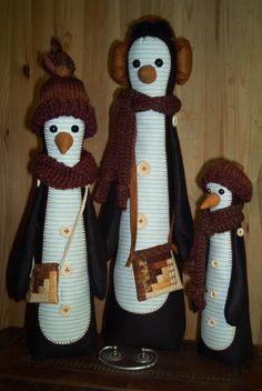 """Pinguinfamilie"" Anleitung demnächst"