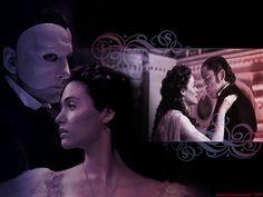 The Phantom & Christine by ElavielEvenstar, via Flickr