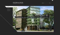 Sitio web ESGUERRA Y USECHE ARQUITECTOS - Año ©2012